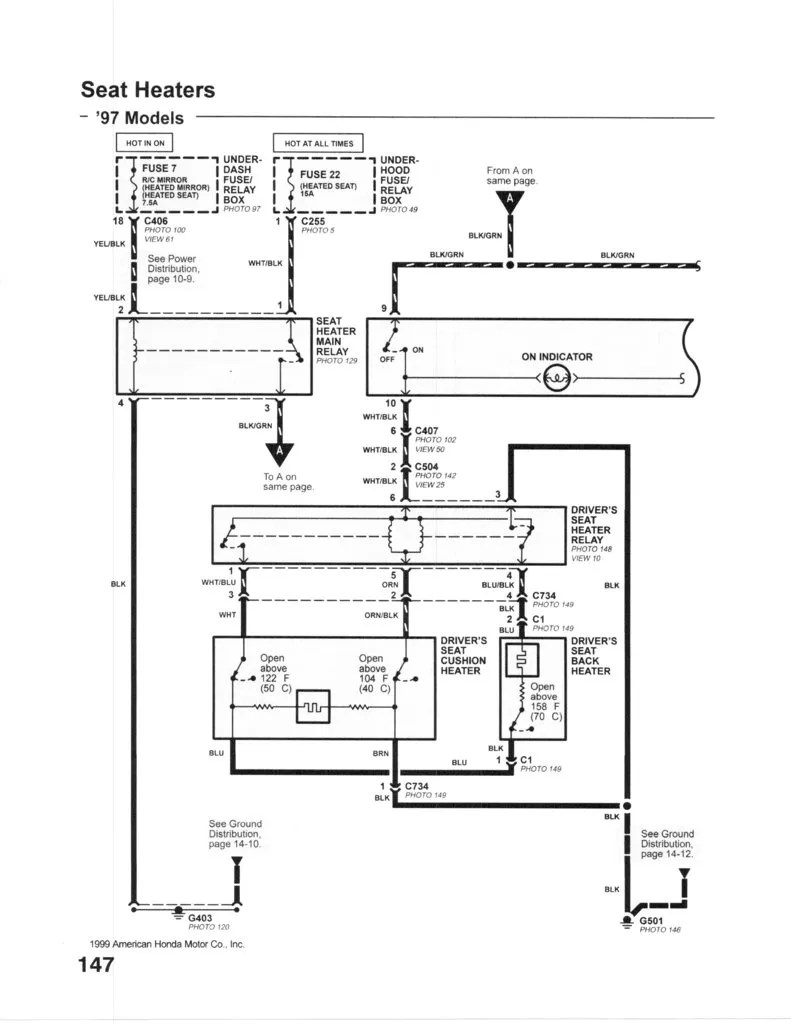 1999 Acura Cl Power Seat Wiring Diagram Acura CL Parts
