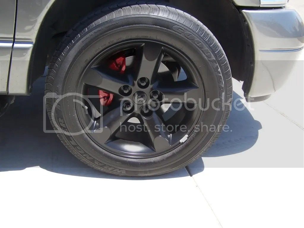 Painted Stock 20 Quot Rims And Red Calipers Project Done W Pics