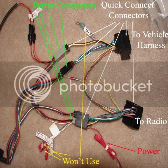 Parrot Mki9000 Wiring