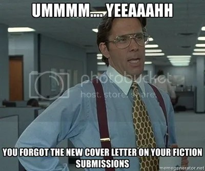 Write a Cover Letter for a Fiction Submission