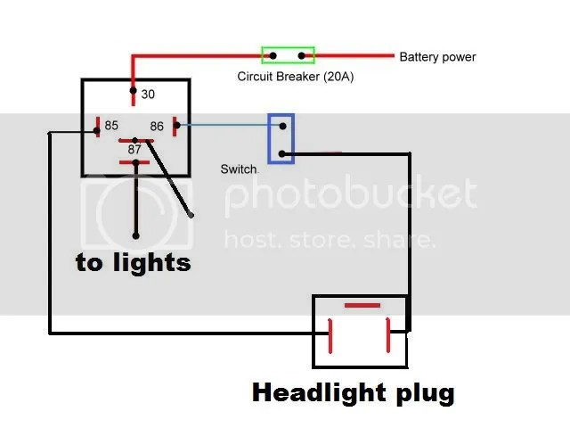 5 pin relay wiring diagram headlights 1995 mitsubishi eclipse gsx lightforce lights with great installation of images gallery