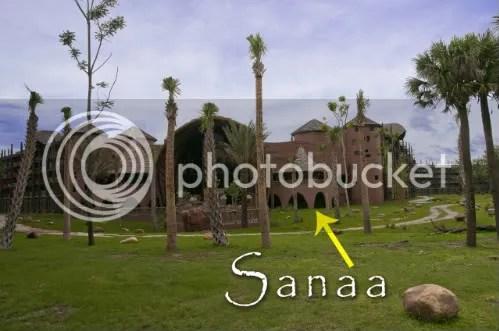 Kidani Village Viewed from the Savanna