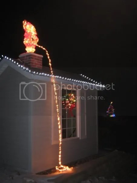 my neighbor said his wife would never ask him to put up christmas lights again