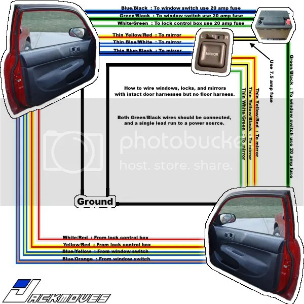 1999 honda civic ex fuse box diagram mtd yard machine wiring diy 96 00 dx power windows locks conversion carolina hondas