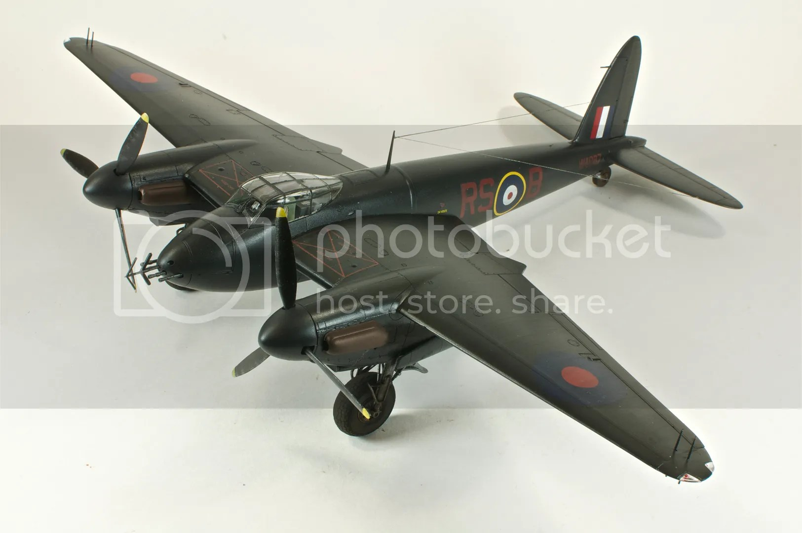 March,Mosquito NFII,2011,scale models,1/48,Nikon D300s,Tamiya
