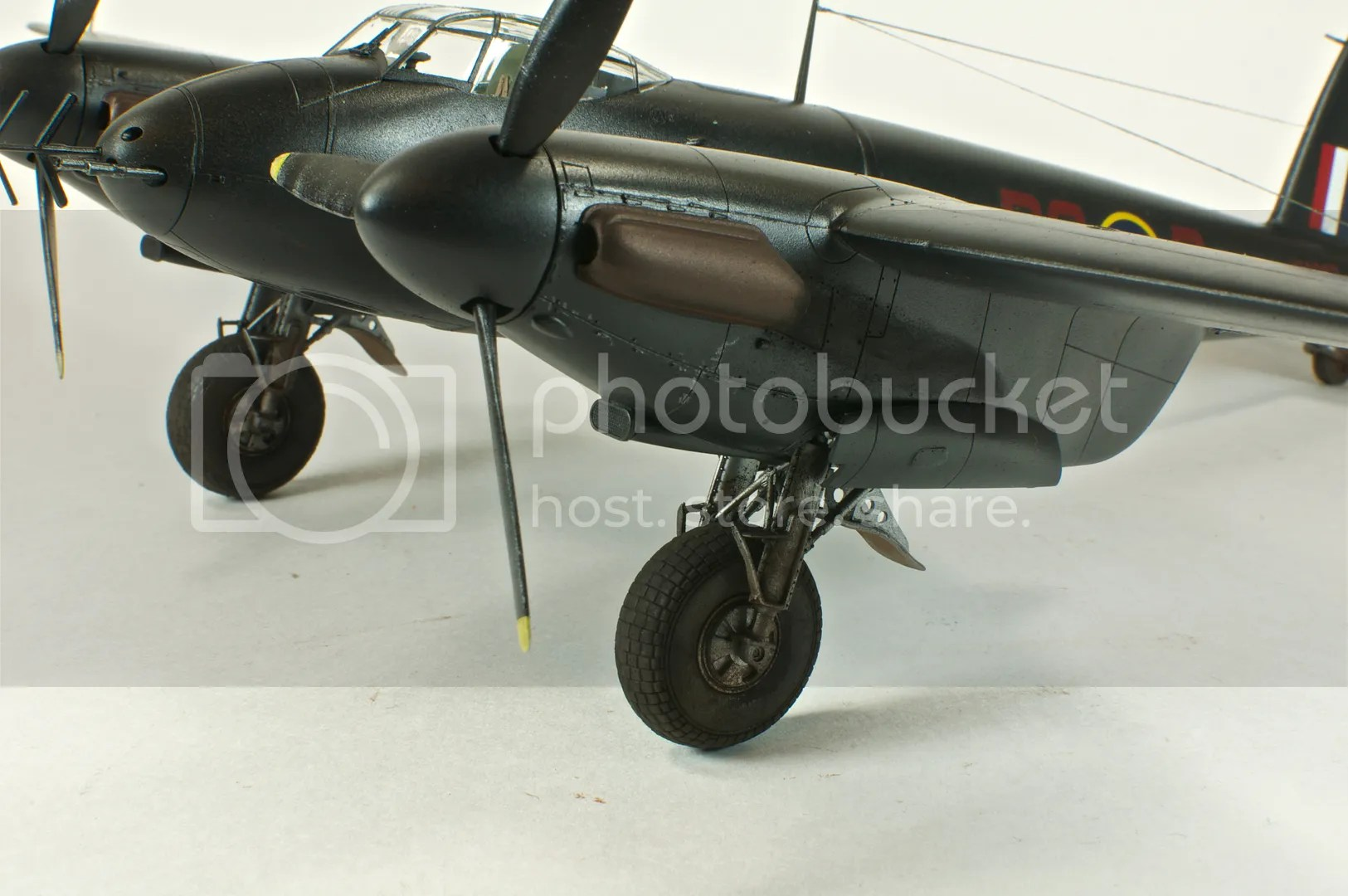 March,Mosquito NFII,1/48,scale models,Nikon D300s,2011,Tamiya