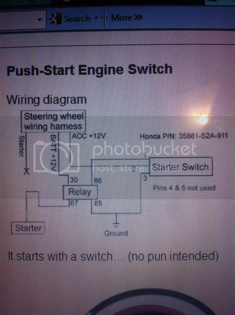 starter wire diagram vw bus wiring push button start install - plz help! ls1tech camaro and firebird forum discussion