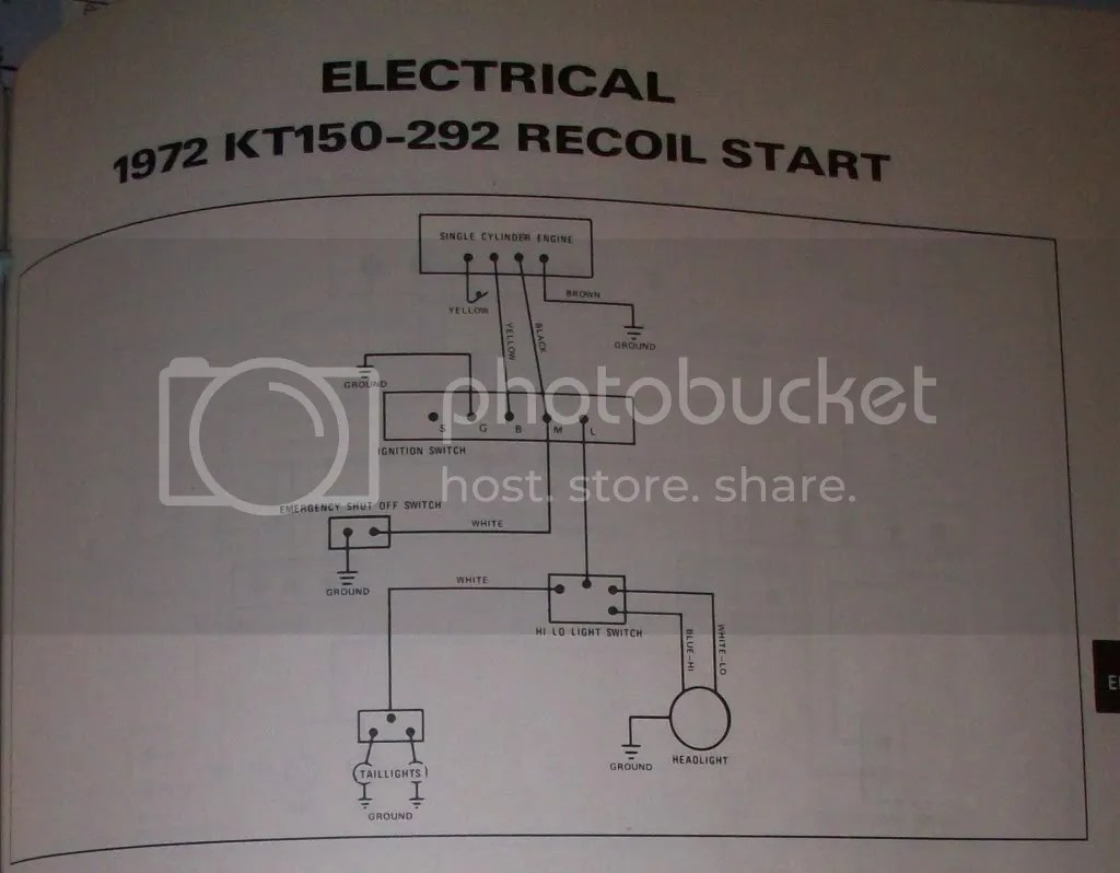 hight resolution of here is a wiring diagram from my 72 arctic cat service manual that shows the wire colors i believe the 72 and 73 lynx models had the same wiring