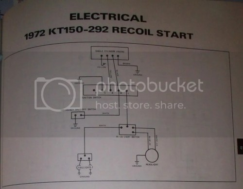 small resolution of here is a wiring diagram from my 72 arctic cat service manual that shows the wire colors i believe the 72 and 73 lynx models had the same wiring