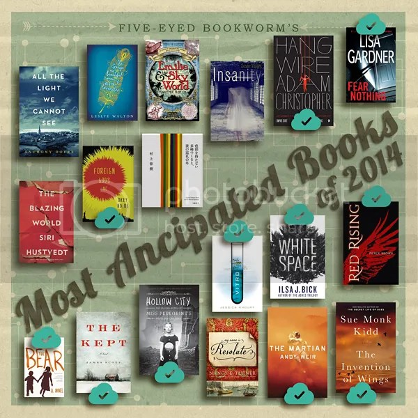 Most Anticipated Books 2014