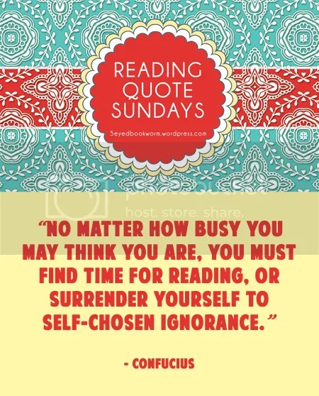 Reading Quote Sundays #7