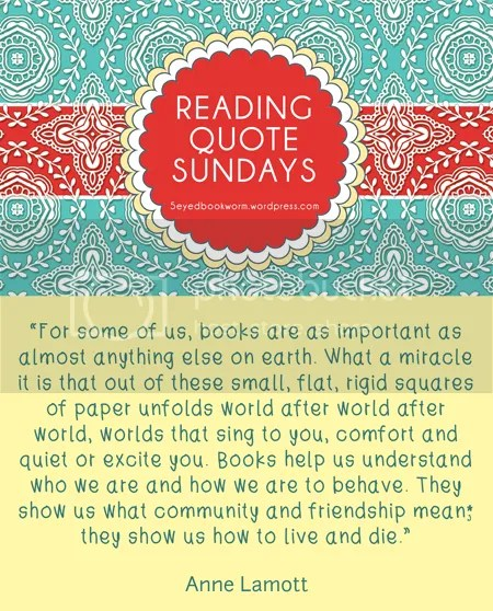 Reading Quote Sundays #8