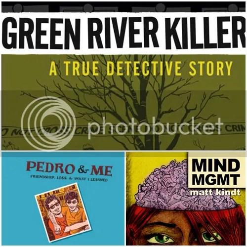 Green River Killer, Pedro & Me, Mind MGMT