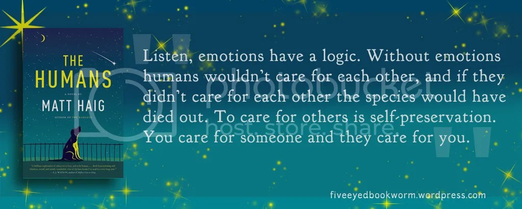 Quotes from The Humans Matt Haig