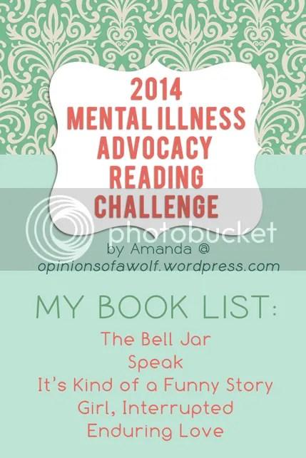 2014 Mental Illness Awareness Reading Challenge