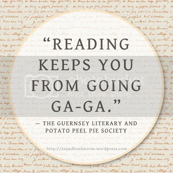 book reviews for the guernsey literary and potato peel pie society