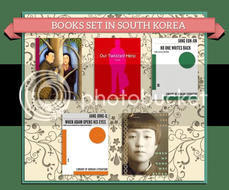 Books set in South Korea