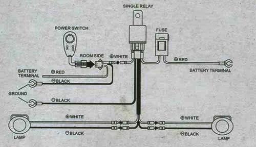 dlaa fog lamp wiring diagram