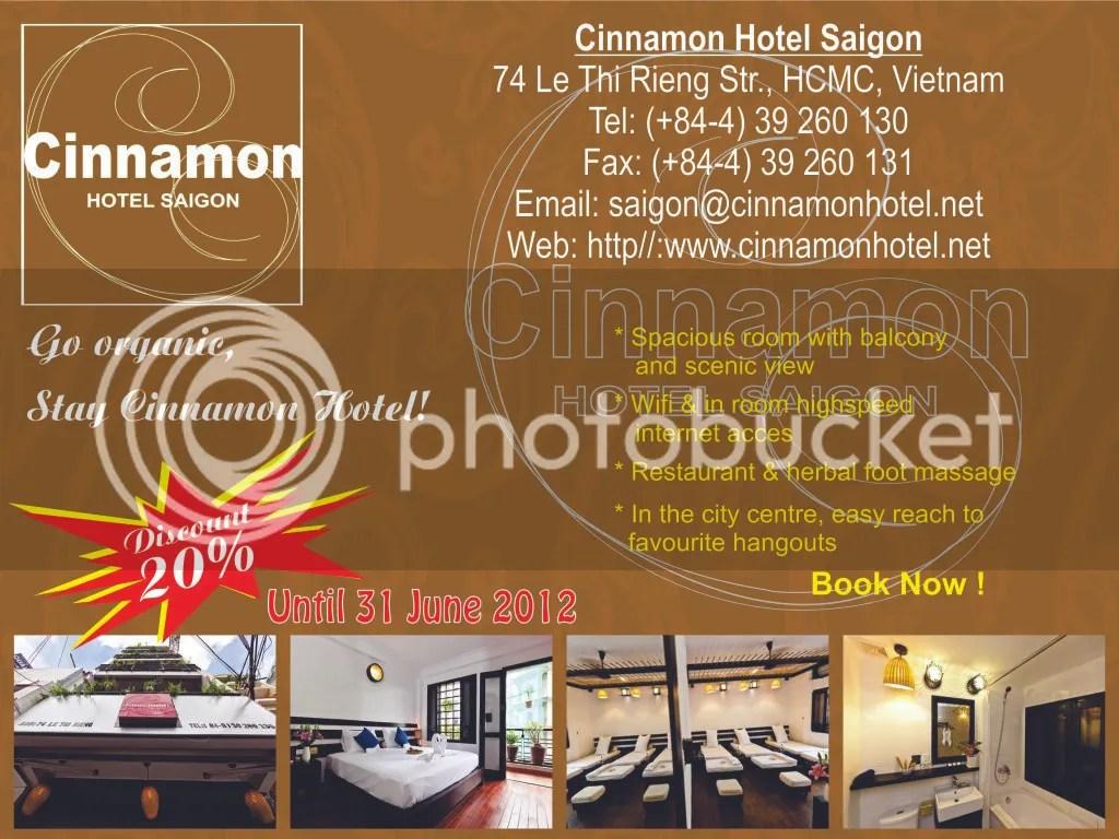 Cinnamon discount
