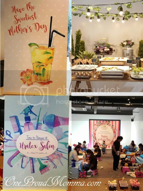 Uratex SPArty: Salon and Spa Pamper Time for Moms