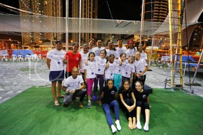 British School Manila Introduces Flying Trapeze Activity