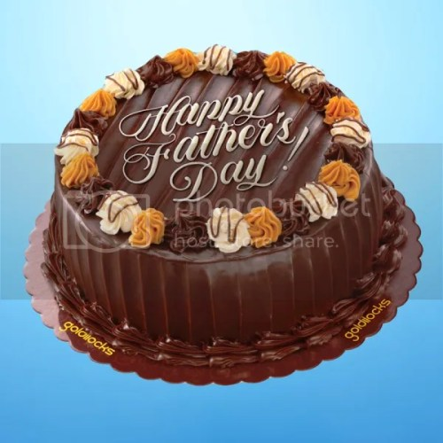 Goldilocks Chocolate Caramel Decadence Cake for Father's Day