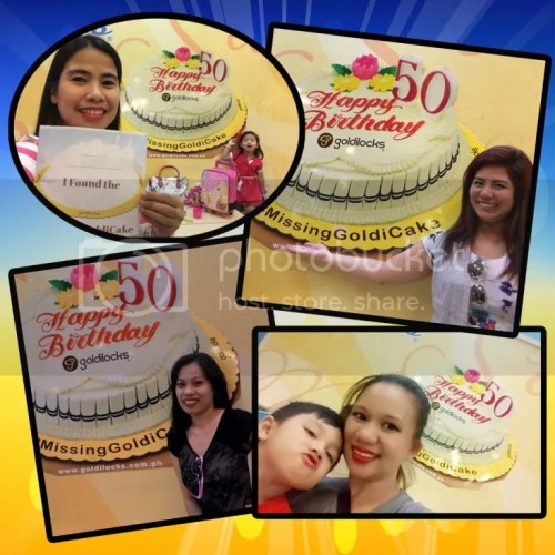 Goldilocks 50th Anniversary Cakes Found