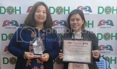 Generika Receives Award DOH Award 2016