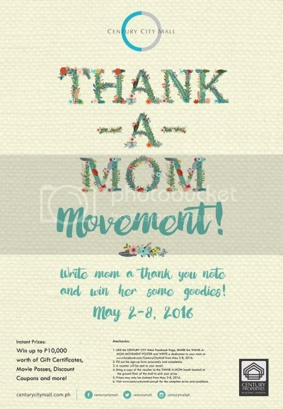 Century City Mall Thank A Mom Movement Mother's day