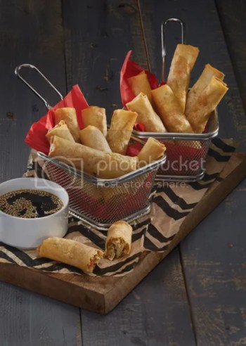 Serve Holiday Feasts with Electrolux Cooking Ranges Shrimp-Finger-Rolls