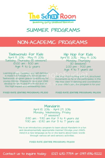 The SchoolRoom Non Academic Summer Programs