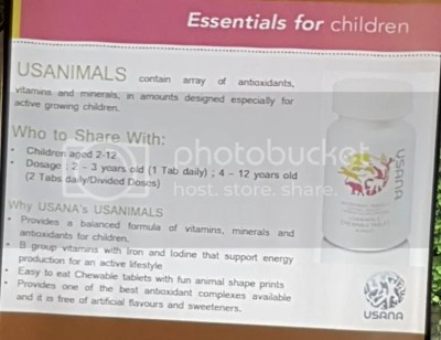 USANIMALS by USANA - Daily Multivitamin For Your Child's Overall Health