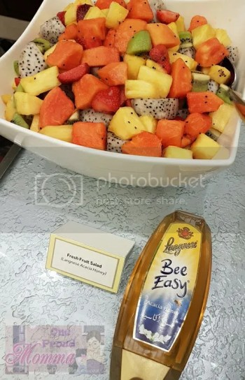Langnese Honey - Fresh Fruit Salad with Acacia Honey