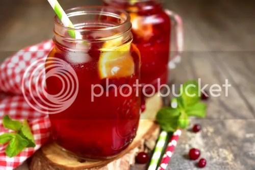 Old Orchard Cranberry Mocktail