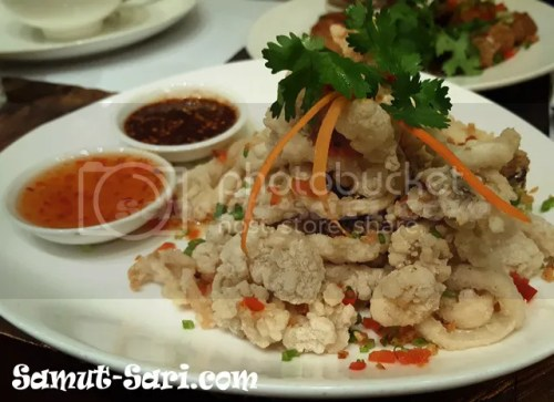 Just-Thai-Pla Muk Tod Fried Calamare