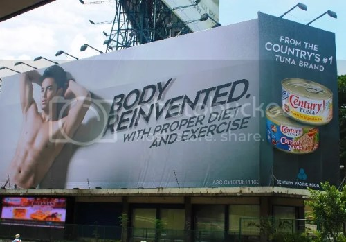 #NoBodyLikeJames James Reid in the new Century Tuna campaign