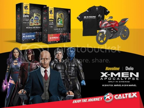 Caltex_X-Men fans experience the Power of X with Caltex_