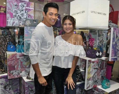 Gary Valenciano Supports Daughter's Debut in Fashion Save My Bag Collection