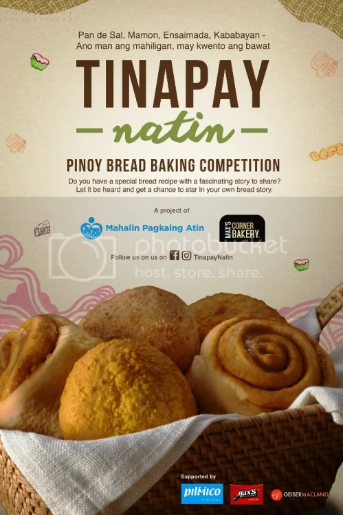 Max's Corner Bakery and Pilmico Tinapay Natin Pinoy Bread Baking Competition