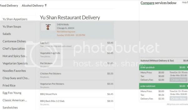 Bootler Chinese Food Delivery