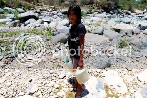 Children in El Niño Affected Mindanao