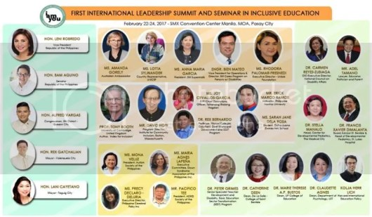 International Leadership Summit in  Inclusive Education #YesToInclusion