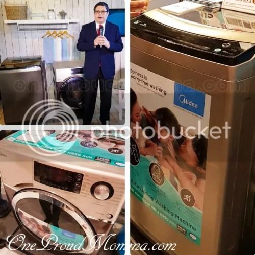 Midea Front Load iAdd Washing Machine