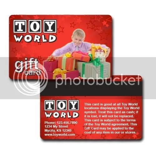 Custom Gift Cards