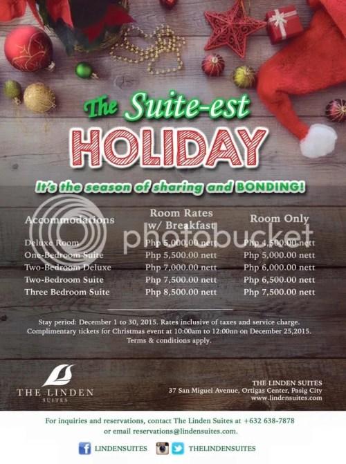 Linden Suites Suite-est Holiday Promo Offer
