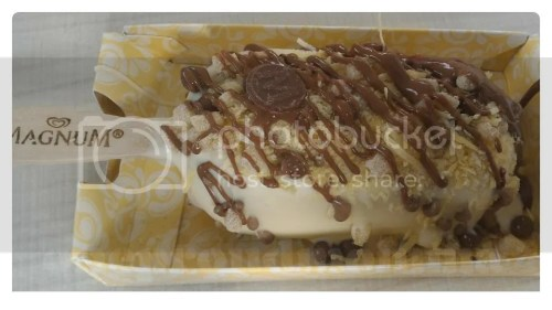 Magnum Manila White Chocolate Ice Cream bar