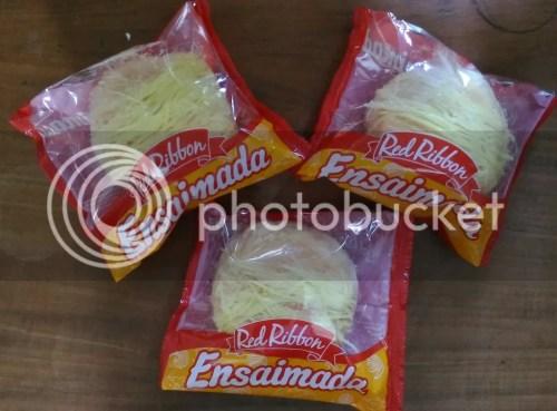 Red Ribbon Cheesy Ensaimada