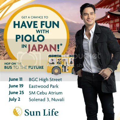 Sun Life Philippines Bus to the Future with Piolo Pascual