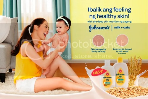 Johnson's Milk+Oats - #IbalikAngFeeling Ng Healthy Skin