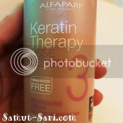 The Beauty Lounge by Bianca Festejo AlfaParf Milano Keratin Therapy Blowout